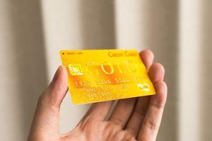 GOLDと書かれたクレジットカード