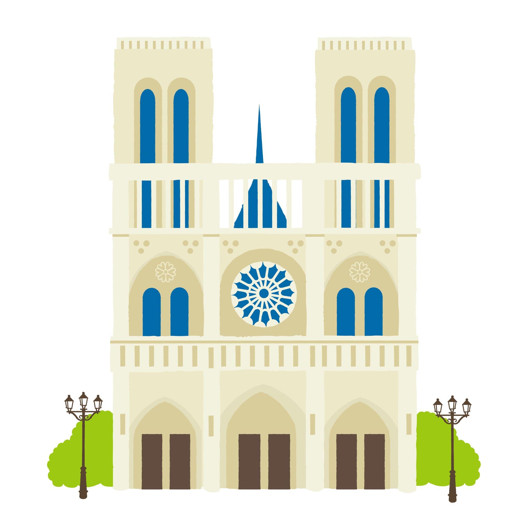 クレディセゾンが永久不滅ポイントでノートルダム大聖堂再建の支援金を受付開始
