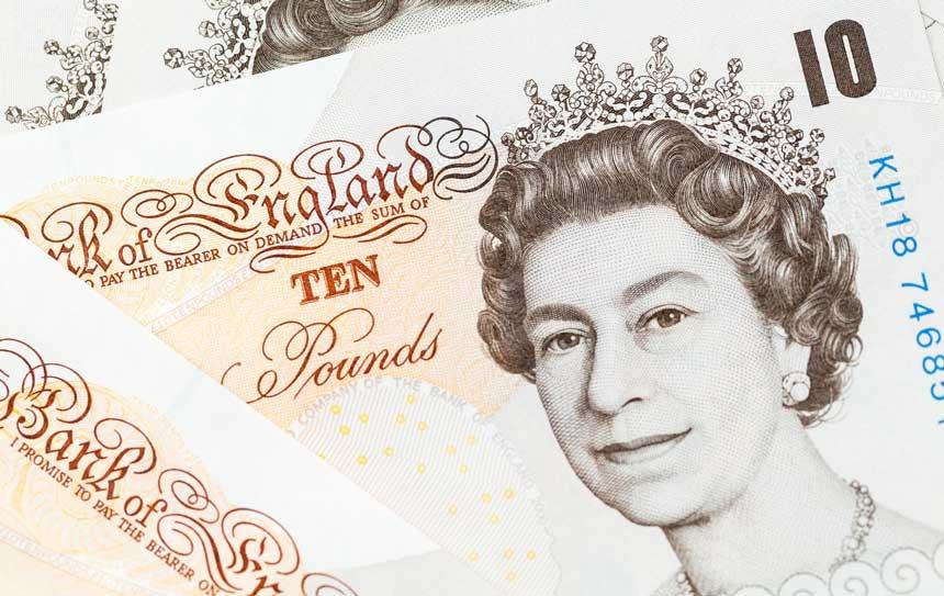 10ポンド札