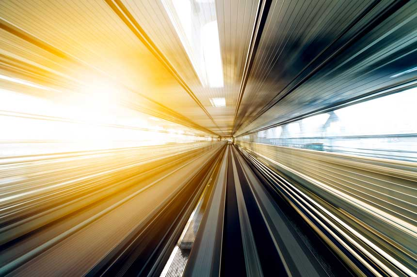超高速のイメージ
