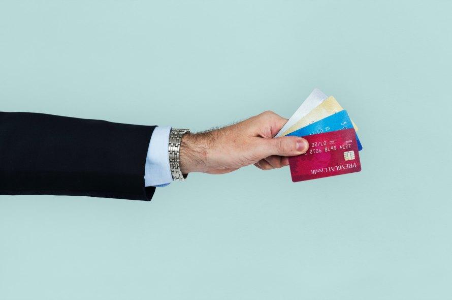 クレジットカードは何枚