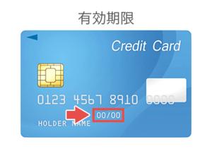 クレジットカード番号